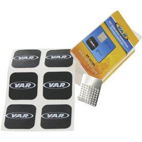 VAR Schlauchflicken RP-44100-C selbstklebend 6 Flicken & Sandpapier