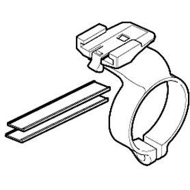 Cateye computer mount wireless bracket handlebar center