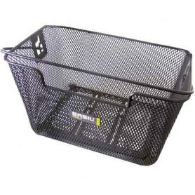BASIL CAPRI FLEX Gepäckträger-Korb engmaschig  33 cm x 42 cm x 19 cm schwarz