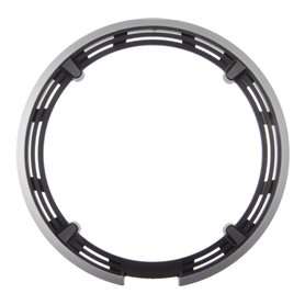 Shimano chain guard ring for FC-M590 48 teeth without screws silver