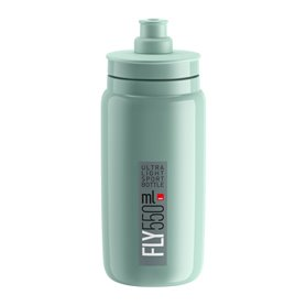 Elite drinking bottle Fly 2020 550ml green, grey logo