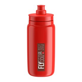 Elite drinking bottle Fly 2020 550ml red, bordeaux logo
