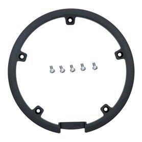 Shimano chain guard ring for FC-2450 46 teeth incl. screws black