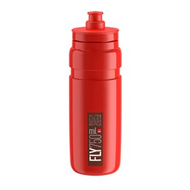 Elite drinking bottle Fly 2020 750ml red, bordeaux logo