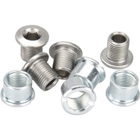 Shimano chainring screws FC-M552 for 32 teeth M8 x 8.5mm B-Typ 4 pieces