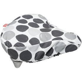 New Looxs saddle cover Dots black