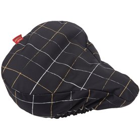New Looxs saddle cover Check black