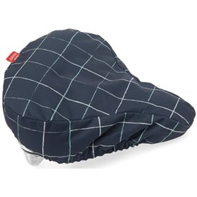 New Looxs Sattelbezug Check blue