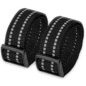 Litelok mounting strap Wrapstraps for Litelok locks black 2 pieces