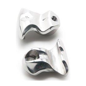 PRO Klemmeinsatz Einfachverschraubung silber 2 Stück