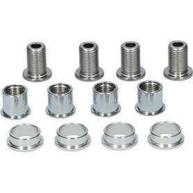 Shimano fixing screw for impact protection FC-M665 M8 x 12.0mm 4 pieces