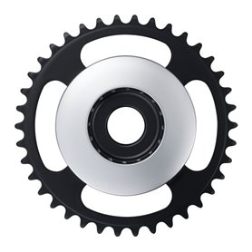 Shimano chainring STEPS SM-CRE61 for DU-E6100 38 teeth CL 46.5mm disc silver