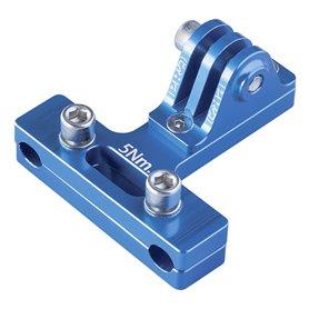PRO universal mount saddle frame blue