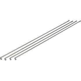 Exal spokes Niro 2mm 290mm silver 100 pieces