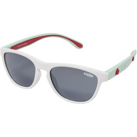 Lazer Brille Blub gloss white mint green
