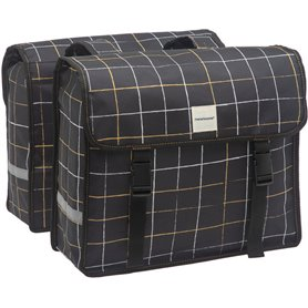 New Looxs Doppelpacktasche Fiori Double Check black 30 Liter