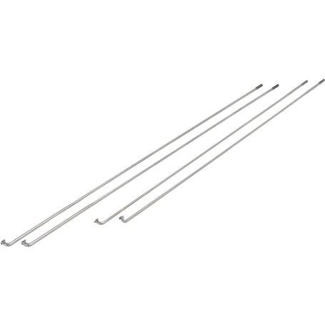 Exal spokes ED 2.00 / 1.8 Niro 276mm silver 100 pieces