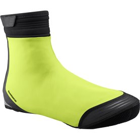 Shimano S1100R Soft Shell Shoe Cover neon yellow size S (37-40)
