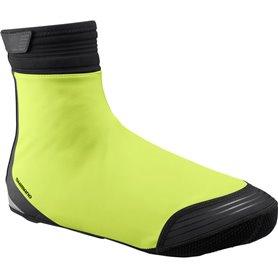 Shimano S1100X Soft Shell Shoe Cover neon yellow size S (37-40)