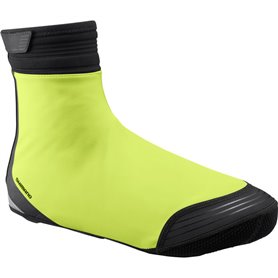 Shimano S1100X Soft Shell Shoe Cover neon yellow size L (42-44)