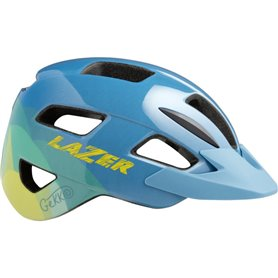 Lazer Kinderhelm Gekko + NET blue yellow