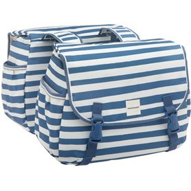 New Looxs Doppelpacktasche Joli Double Blue Stripe 34 Liter