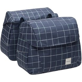 New Looxs Doppelpacktasche Joli Double Check blue 37 Liter