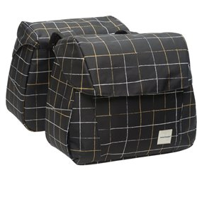 New Looxs Doppelpacktasche Joli Double Check black 37 Liter