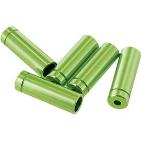 VAR Außenhüllenendkappen FR-01954 4mm für Schaltaußenhüllen Alu 100 St. grün