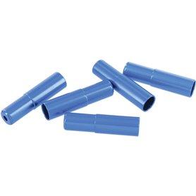 VAR housing end caps FR-01963 5mm for brake cable housing Alu 100 pieces blue