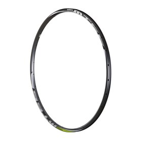 Shimano rim for WH-MT68 24 hole front wheel 15mm rear wheel 12mm black limegreen