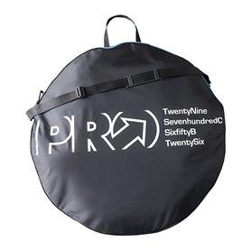 PRO Laufradtasche Two Wheel für 2 Laufräder bis 29 Zoll Nylon PVC schwarz blau