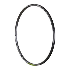 Shimano rim for WH-MT66-F 24 hole front wheel 29 inch 15mm TL black limegreen