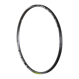 Shimano rim for WH-MT66-R 28 hole front wheel 29 inch 12mm TL black limegreen