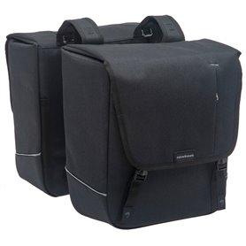 New Looxs Doppelpacktasche Nova Double black 32 Liter abnehmbar