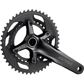 Shimano crankset GRX FC-RX600 2x 11-speed 46-30 teeth 165mm 2 parts