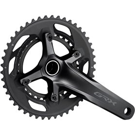 Shimano crankset GRX FC-RX600 2x 11-speed 46-30 teeth 170mm 2 parts