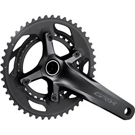 Shimano crankset GRX FC-RX600 2x 11-speed 46-30 teeth 175mm 2 parts