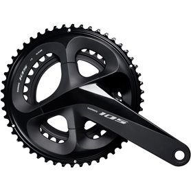 Shimano crankset 105 FC-R7000 2x11 170mm 50-34 teeth black