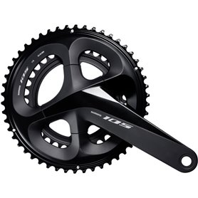 Shimano crankset 105 FC-R7000 2x11 170mm 53-39 teeth black
