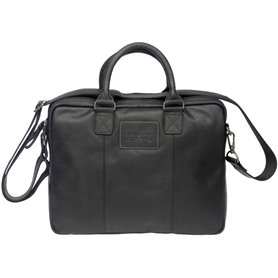 New Looxs Bike bag Santos Leather black 13.5 liter