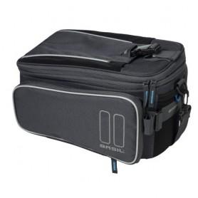 Basil Sport Design Trunkbag Gepäckträgertasche + MIK Adapterplatte 7-12L graphit