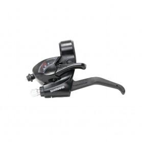Shimano Gear-/Brake lever ST-EF41 2 Finger, 3-speed, left, black
