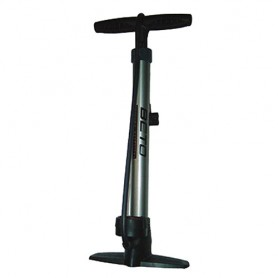 Bike Floor Pump + Alu with Gauge to 11 bar