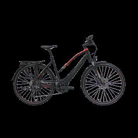 Hercules Pasero E-Bike 2019 Trapez 28 Zoll 650 Wh schwarz matt RH 57 cm