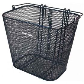BASIL Side Basket CARDIFF, Carrier fine steel mesh, black