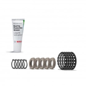 Bosch Service-Kit Bearing guard ring, for cover of bearing place of Drive unit (5 Bearing rings incl. Fat gun)