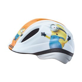 Bike Fashion Kinderhelm Minions Weiss Gr. S 46-51 Cm