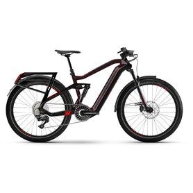 Haibike Adventr FS i630Wh 2021 E-Bike Flyon chocolate black frame size 47cm