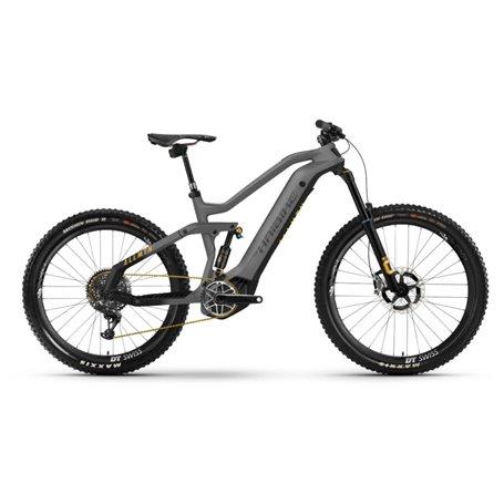 Haibike AllMtn SE i600Wh 2021 E-Bike Pedelec titan black yellow frame size 44cm
